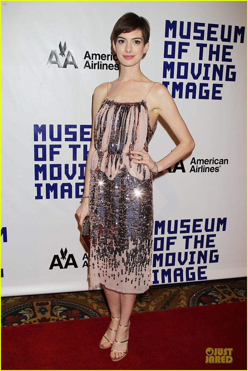 anne hathaway & hugh jackman museum of moving images salute 15