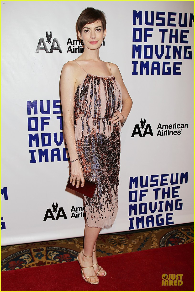 anne hathaway & hugh jackman museum of moving images salute 16
