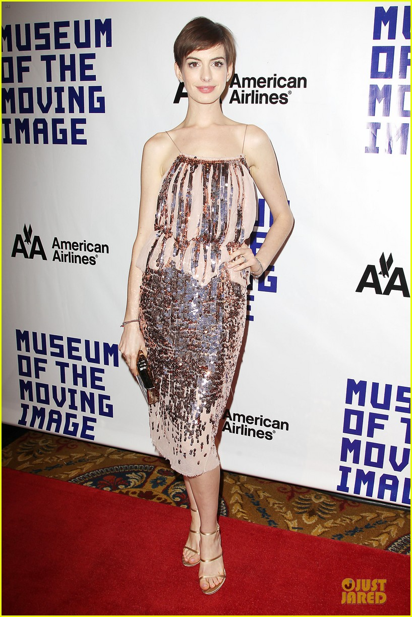 anne hathaway & hugh jackman museum of moving images salute 212774138