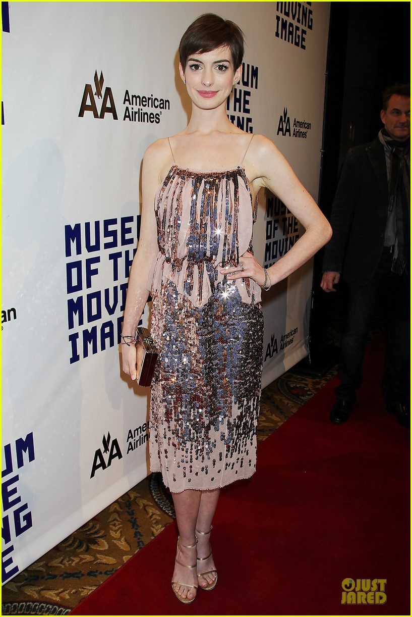 anne hathaway & hugh jackman museum of moving images salute 272774144