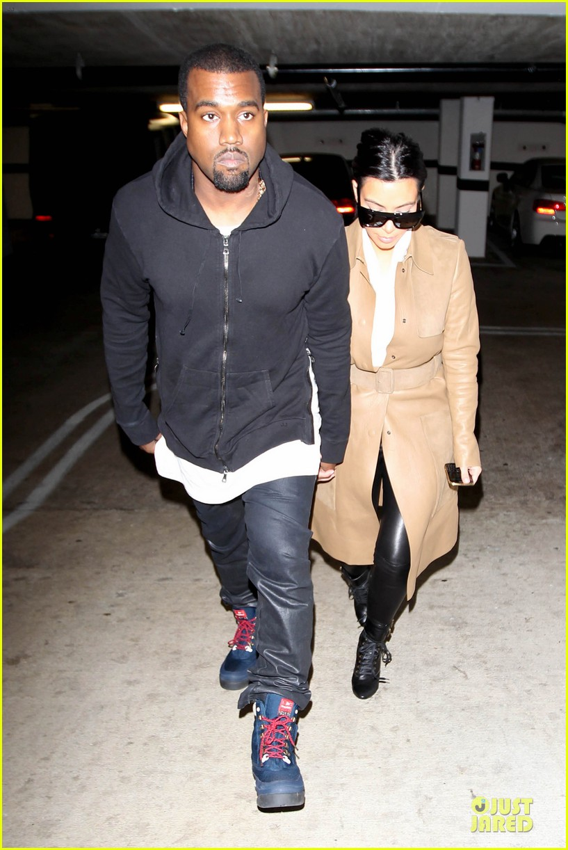 kim kardashian & kanye west beverly hills auctioning couple 05