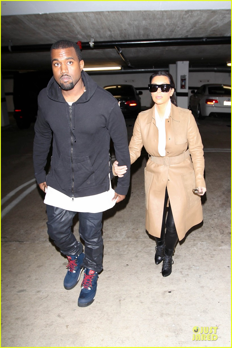 kim kardashian & kanye west beverly hills auctioning couple 08