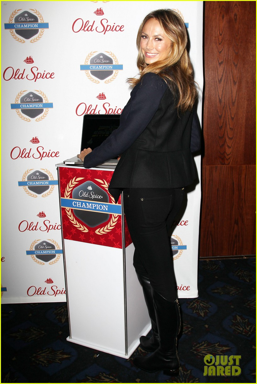 stacy keibler launches new old spice game 03