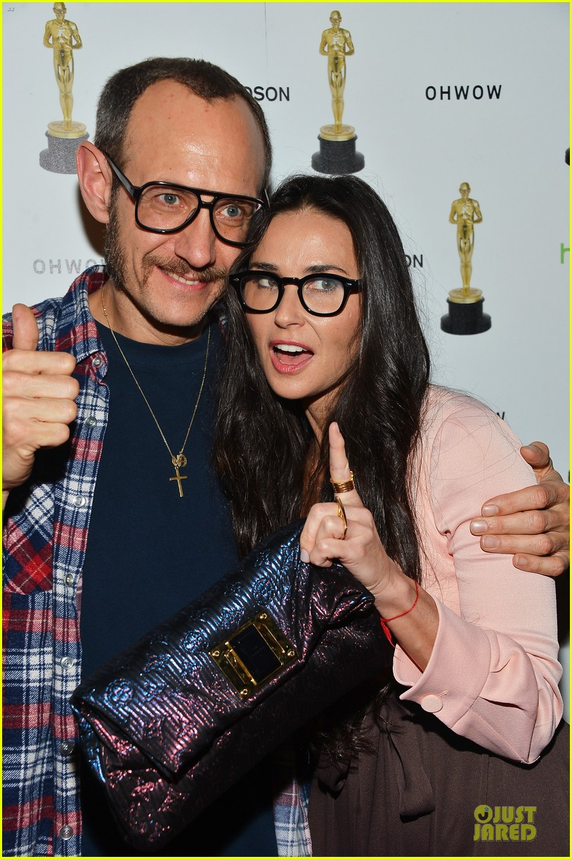 stacy keibler demi moore terrywood release celebration 072771667