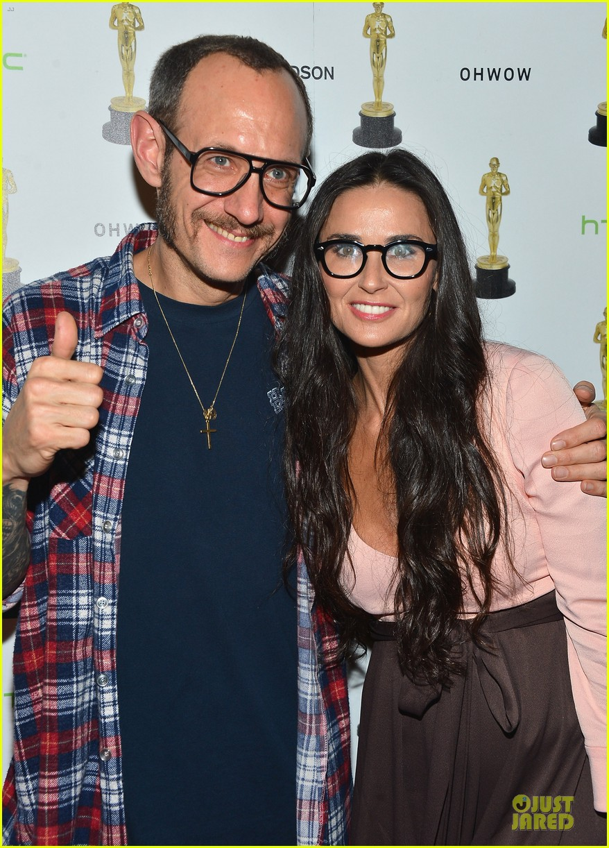 stacy keibler demi moore terrywood release celebration 082771668