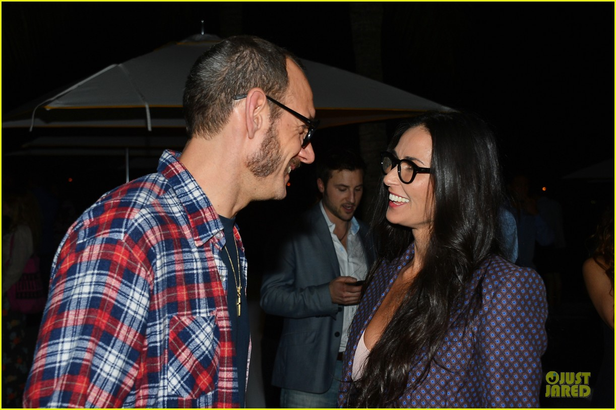 stacy keibler demi moore terrywood release celebration 192771679