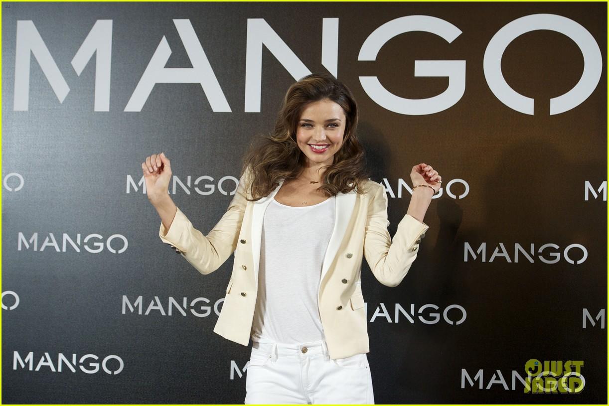 miranda kerr mango madrid photo call 042773585