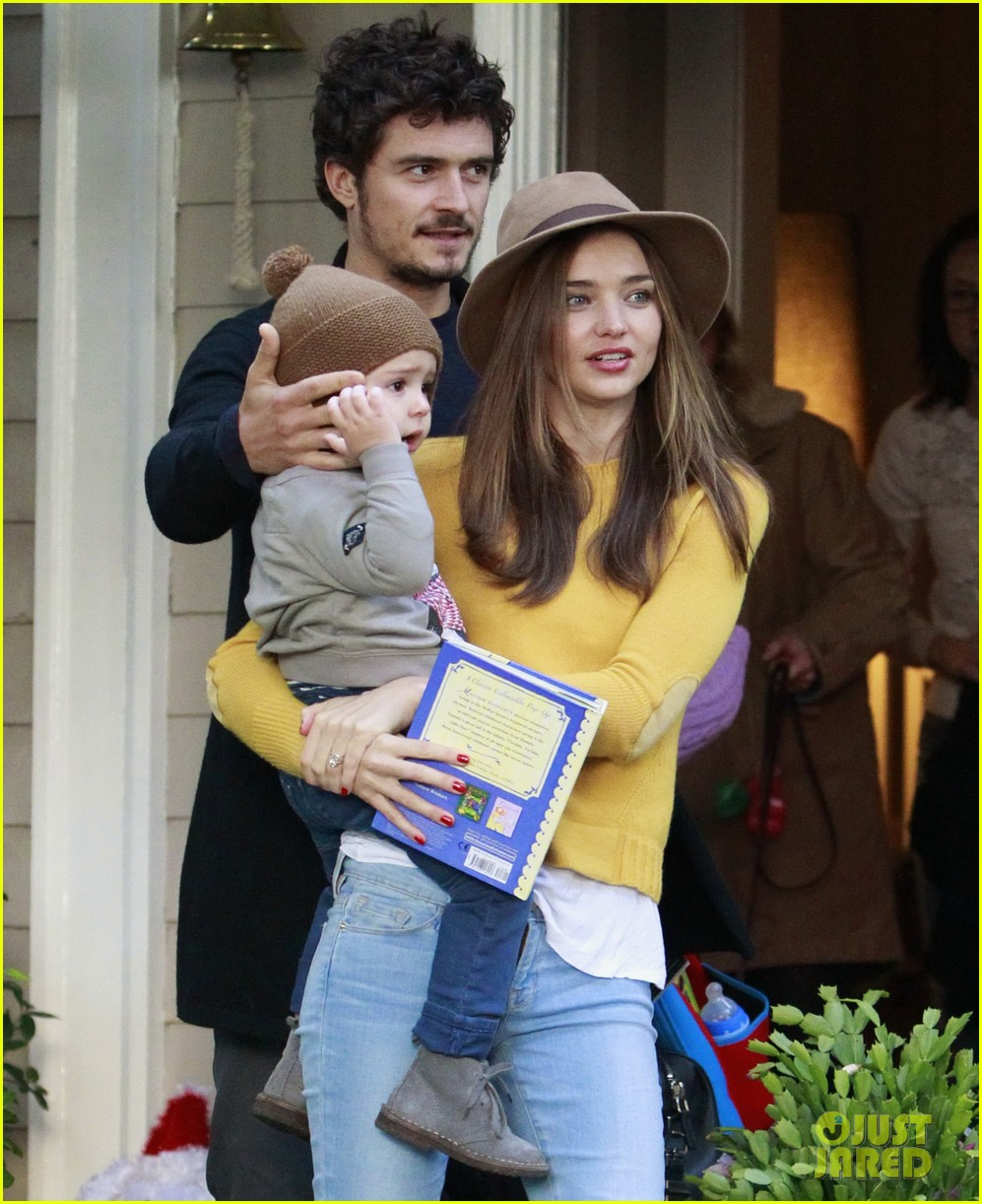 miranda kerr orlando bloom flynn post christmas party 022781152