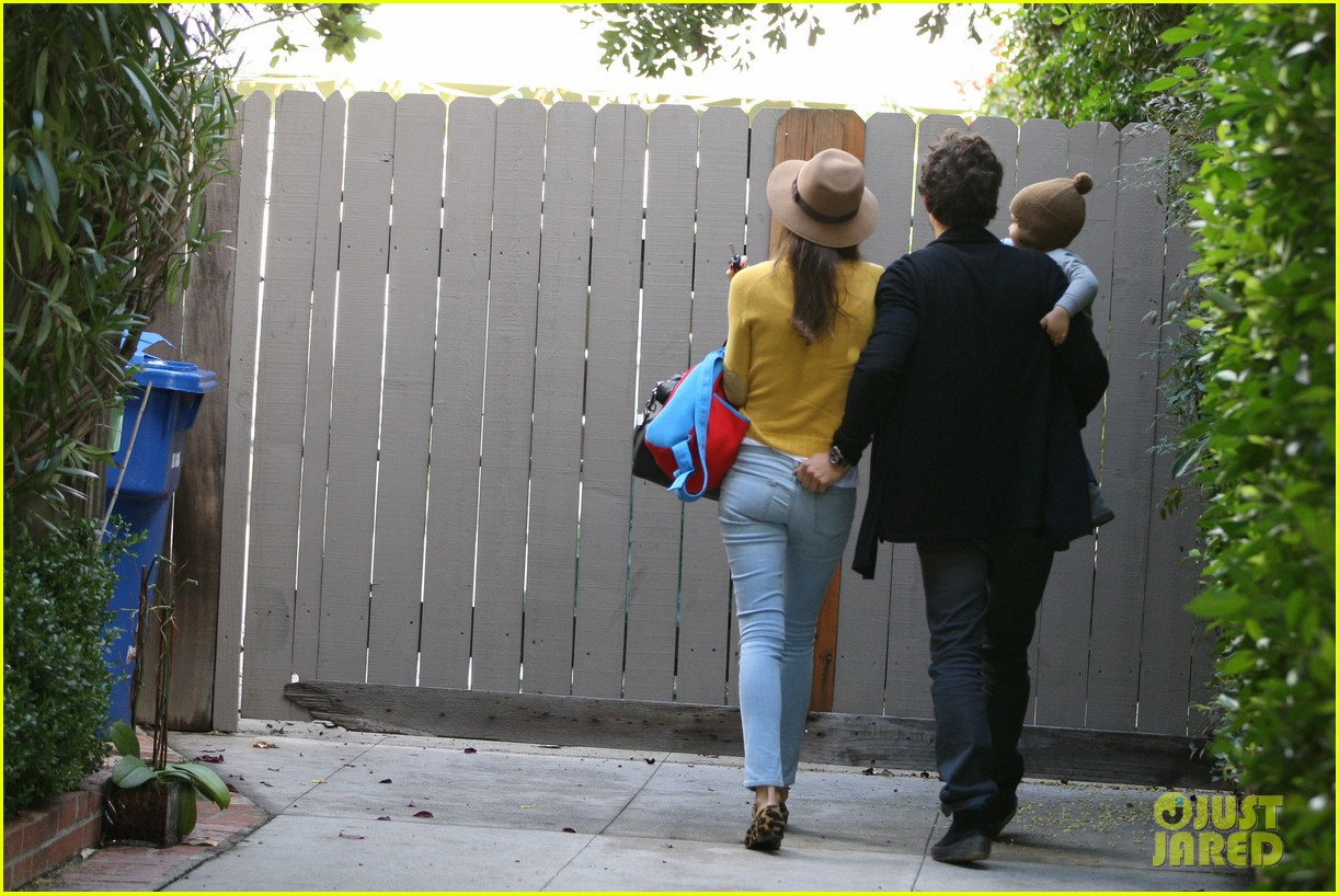 miranda kerr orlando bloom flynn post christmas party 032781153