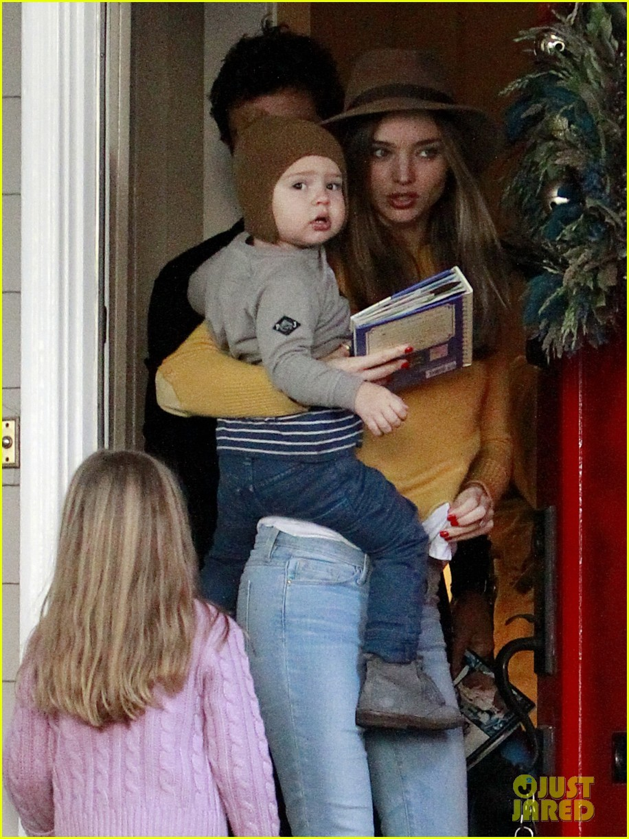 miranda kerr orlando bloom flynn post christmas party 082781158
