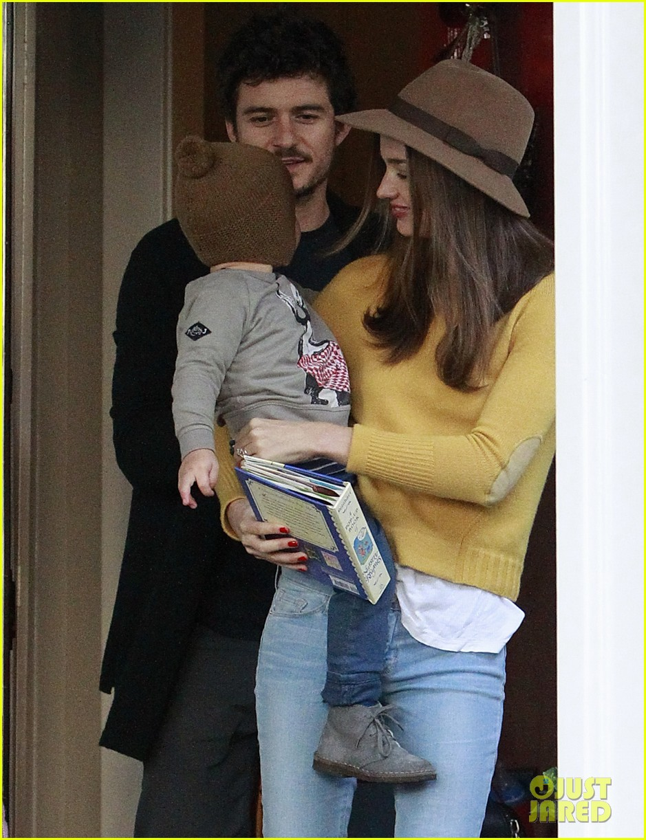 miranda kerr orlando bloom flynn post christmas party 112781161