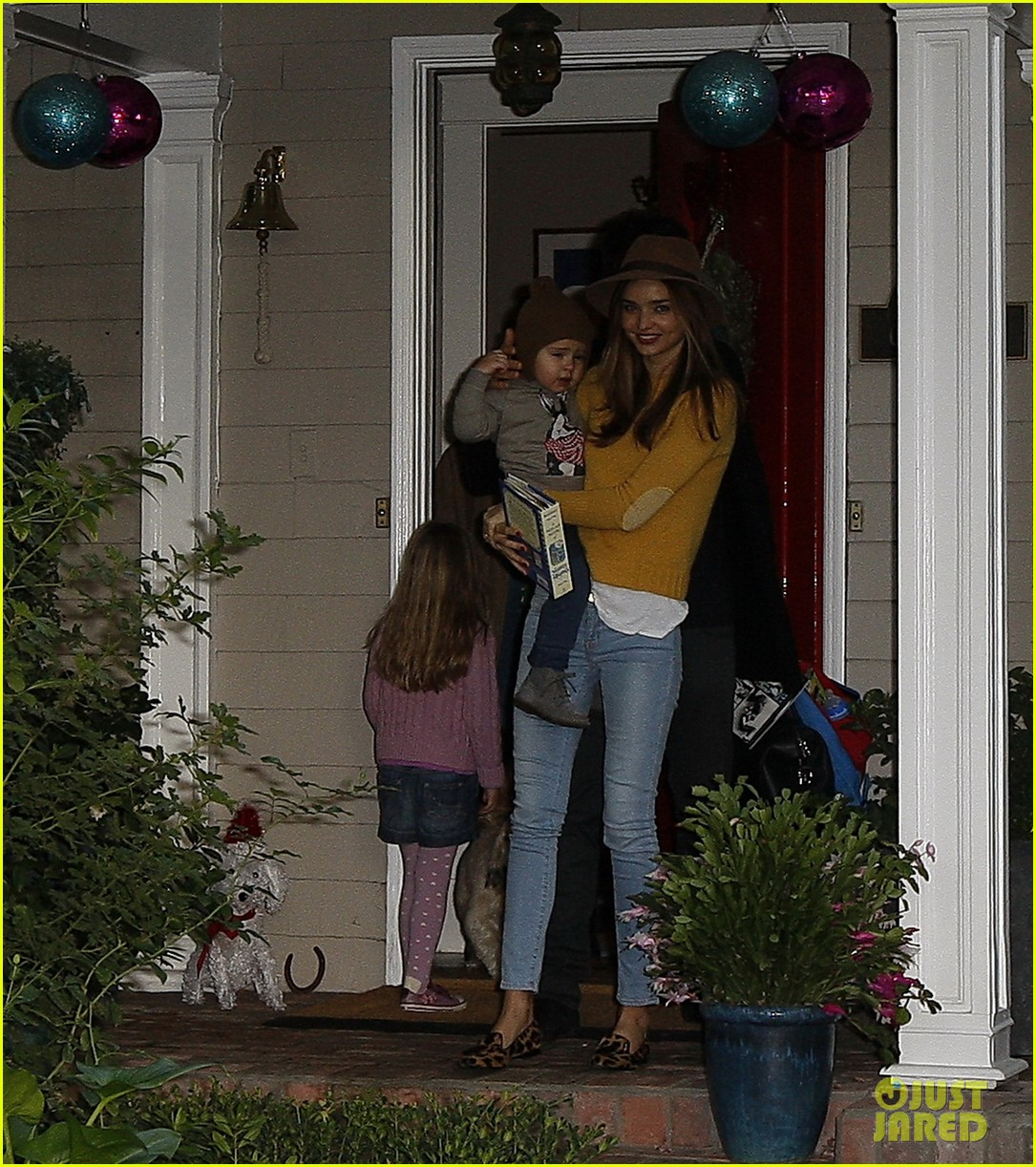 miranda kerr orlando bloom flynn post christmas party 212781171