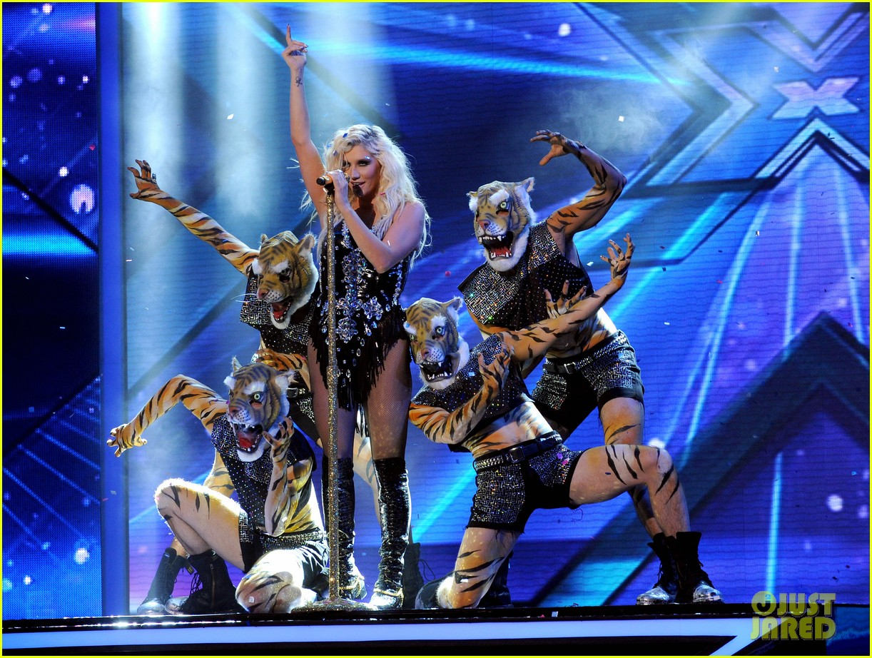 kesha performs cmon on the x factor watch now 022771095