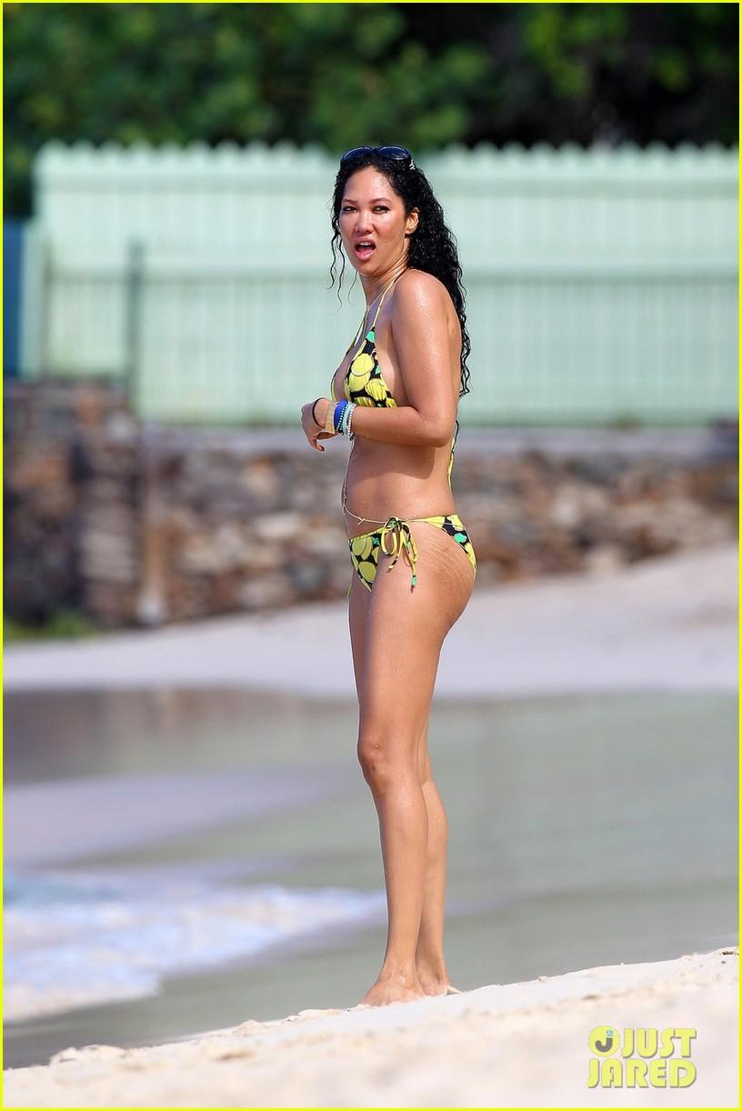 kimora lee simmons rocks bikini in st barts 032781358