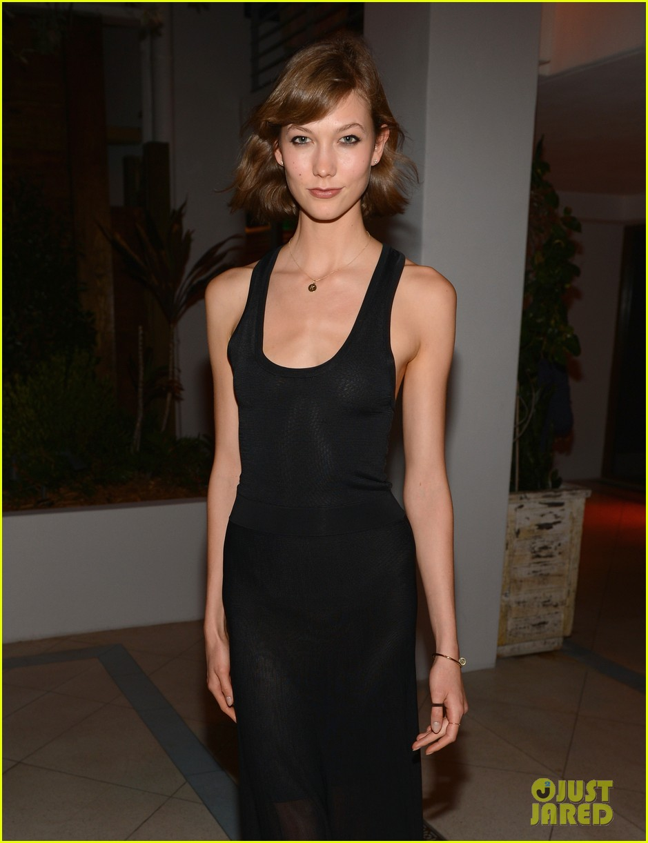 karlie kloss olga kurylenko chanel art basel dinner 072770559