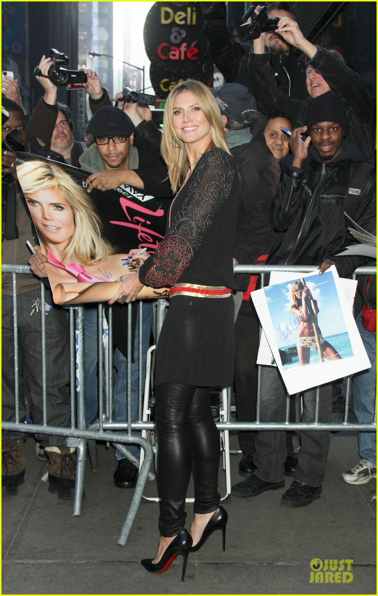 heidi klum good morning america appearance 032769237