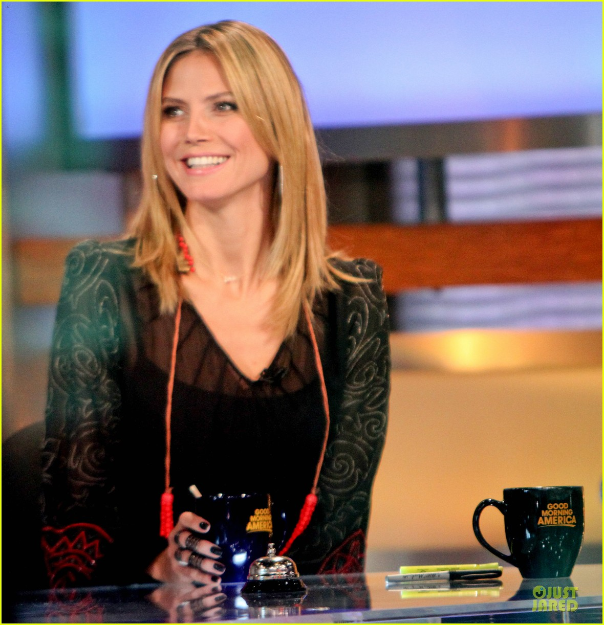 heidi klum good morning america appearance 042769238