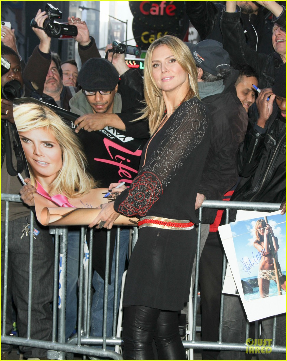 heidi klum good morning america appearance 112769245
