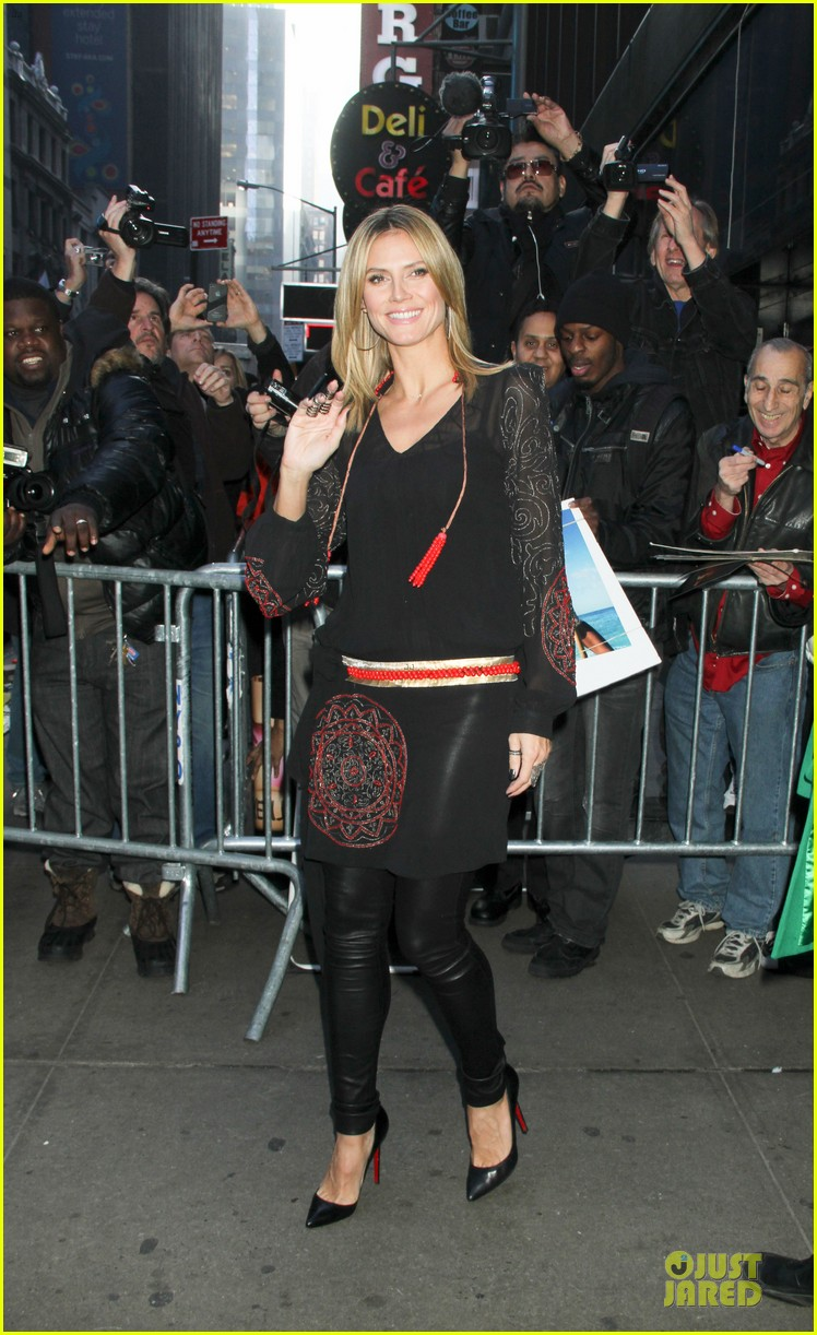 heidi klum good morning america appearance 122769246