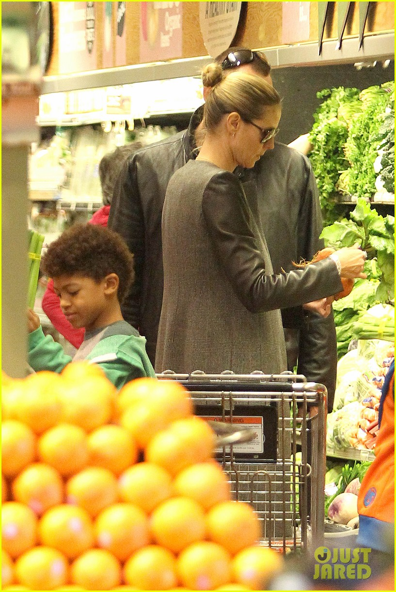 heidi klum martin kirsten lunch groceries with the kids 032781250