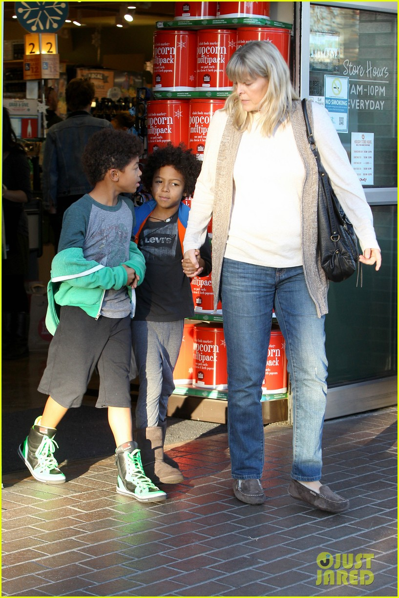heidi klum martin kirsten lunch groceries with the kids 162781263