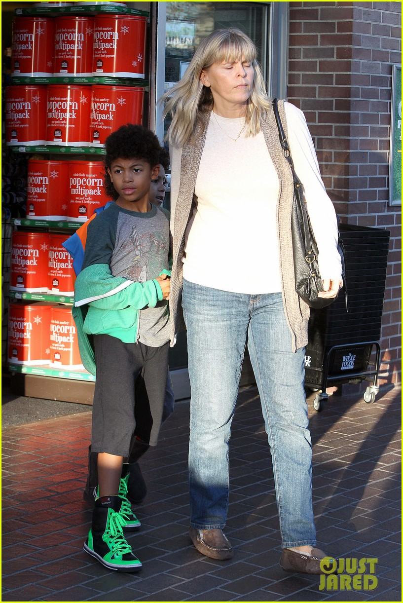 heidi klum martin kirsten lunch groceries with the kids 20