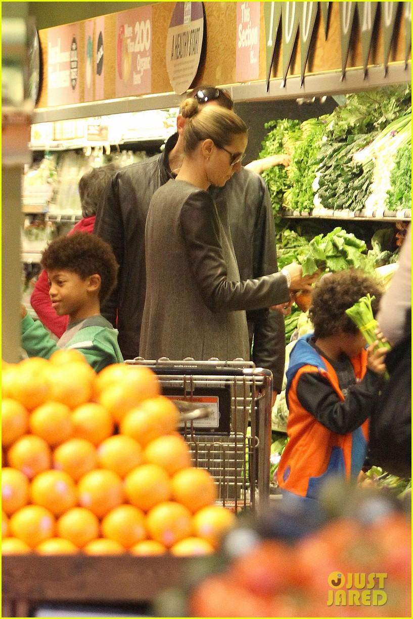 heidi klum martin kirsten lunch groceries with the kids 252781272