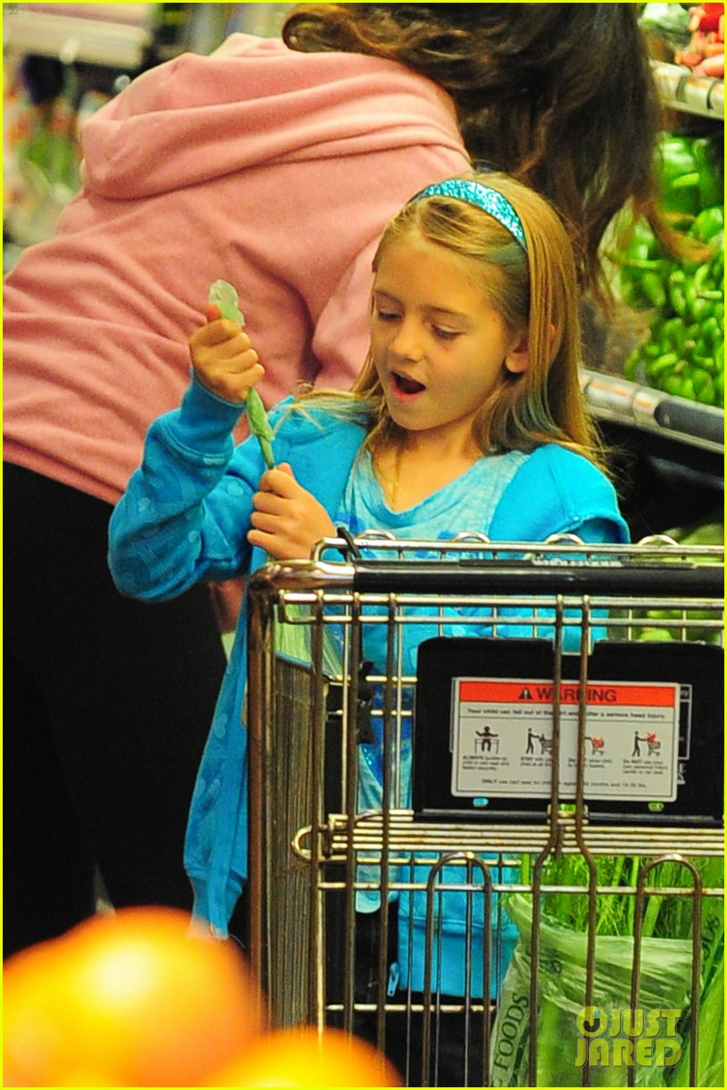 heidi klum martin kirsten grocery shopping with girls 352782581