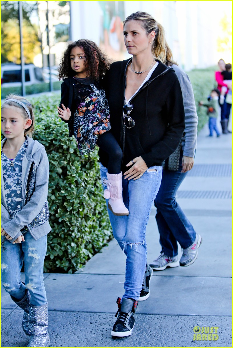 heidi klum martin kristen pretend city childrens museum with the kids 152781919