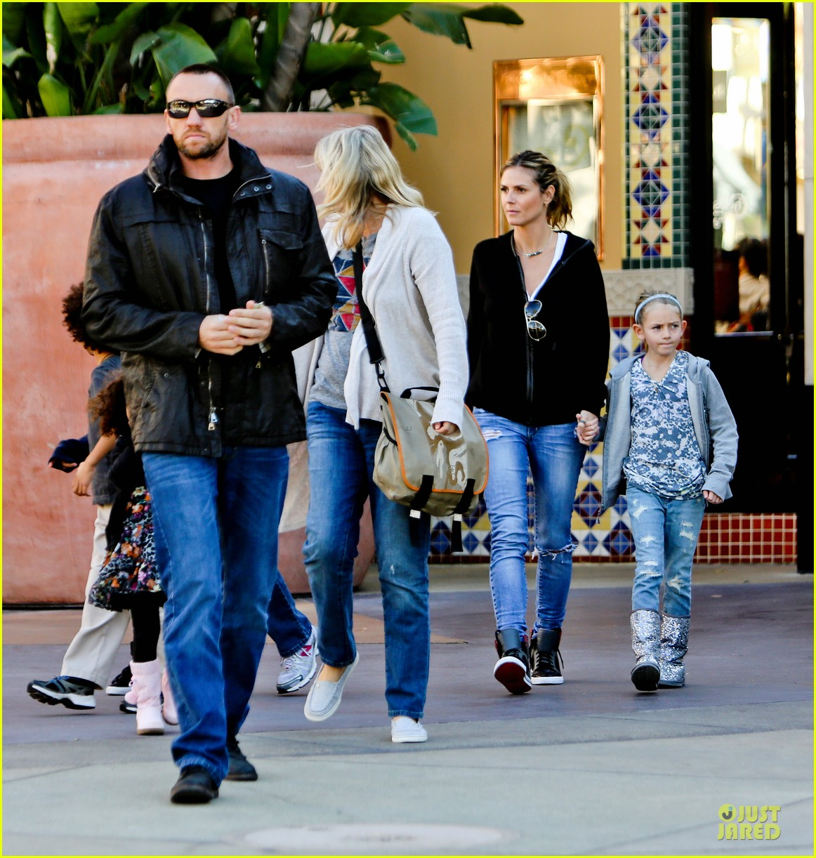 heidi klum martin kristen pretend city childrens museum with the kids 182781922