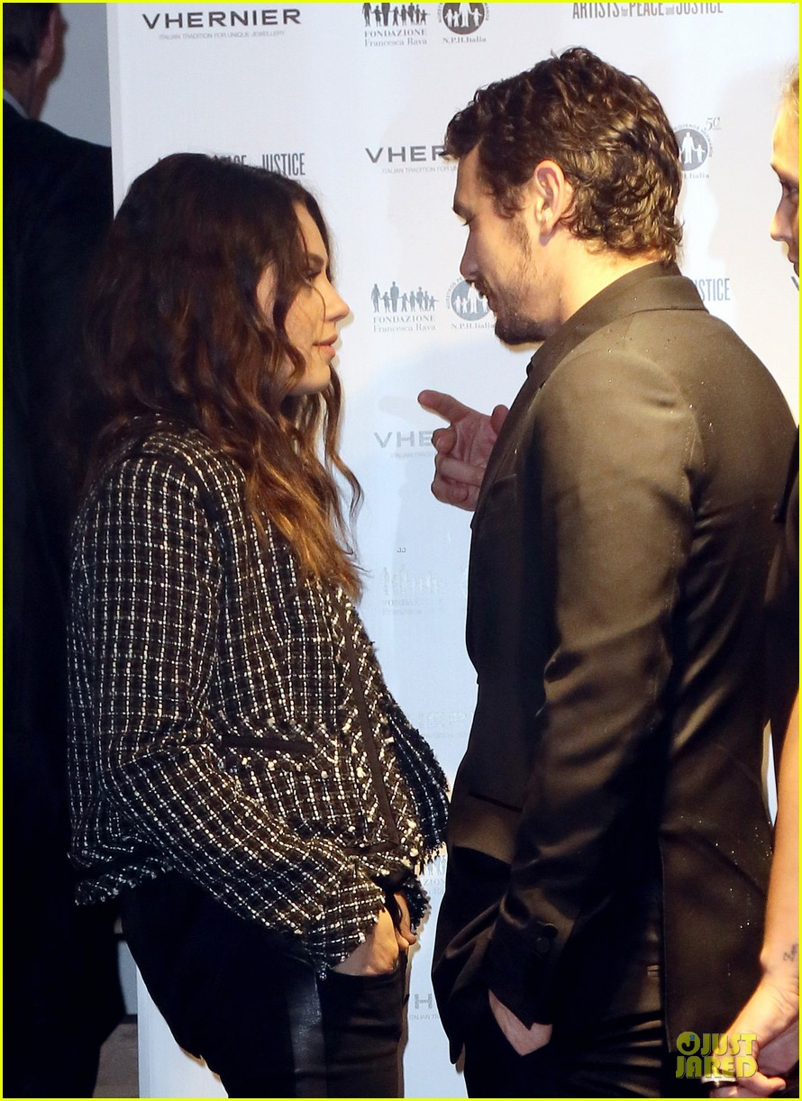 mila kunis & james franco arists for peace & justice cocktail 13
