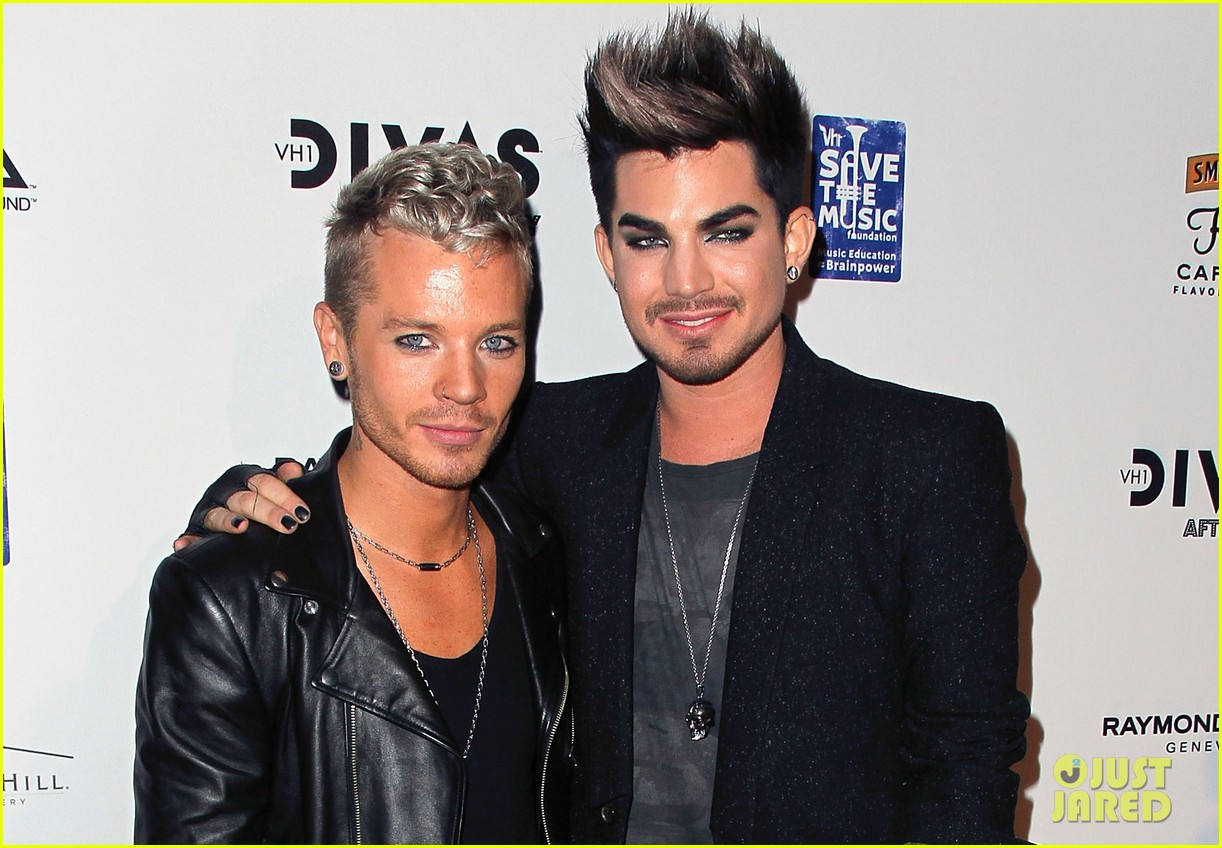 adam lambert jordin sparks vh1 divas after party 04