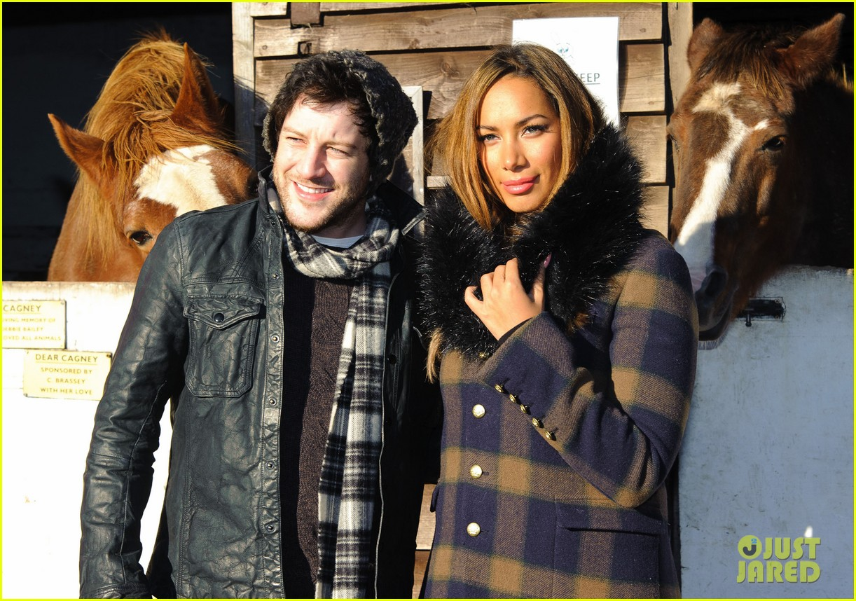 leona lewis hopefield animal sanctuary christmas fete 172767798