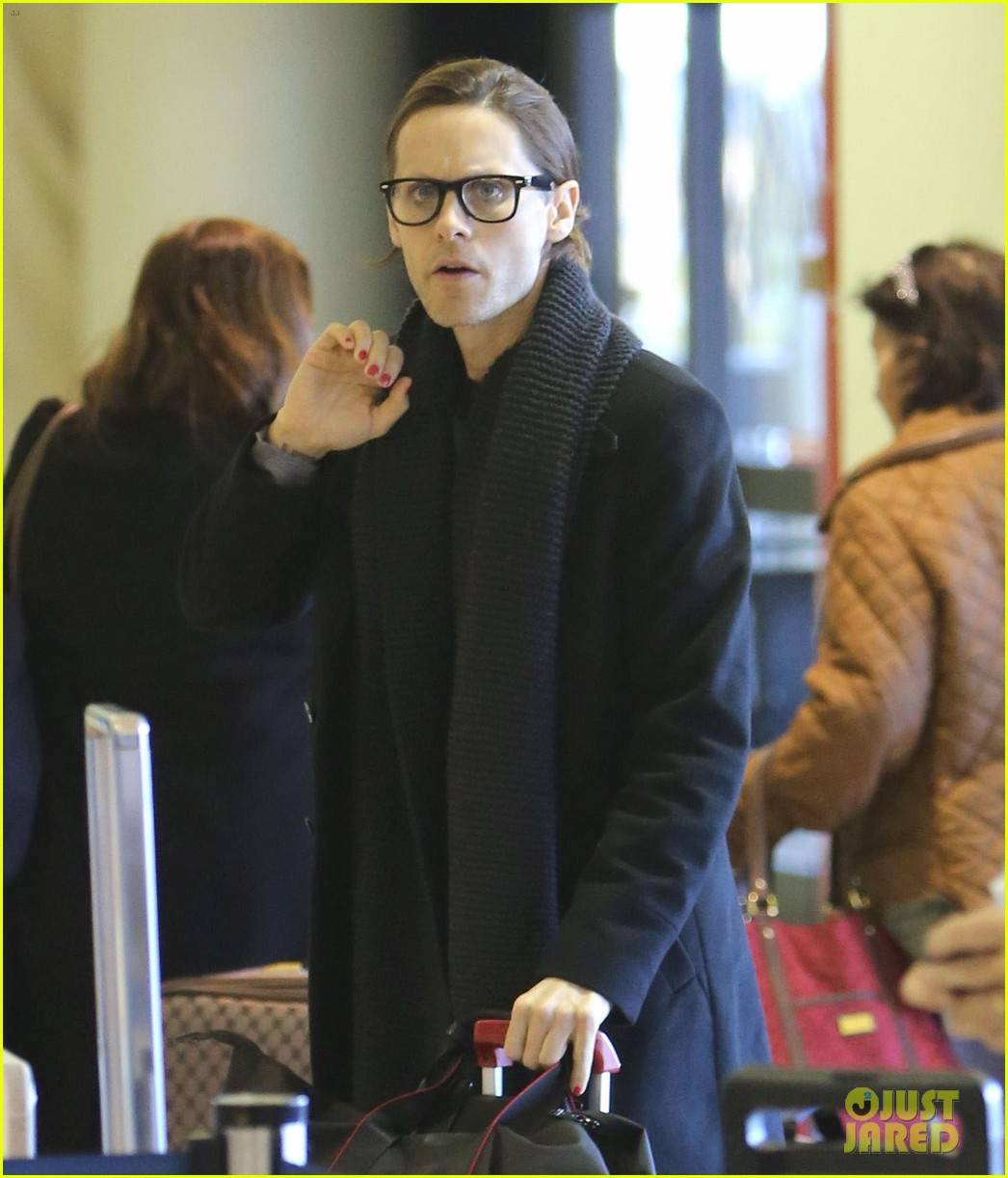 jared leto from lax to new orleans 05
