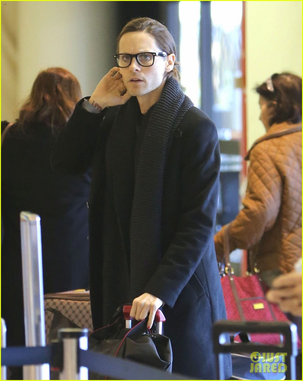jared leto from lax to new orleans 09