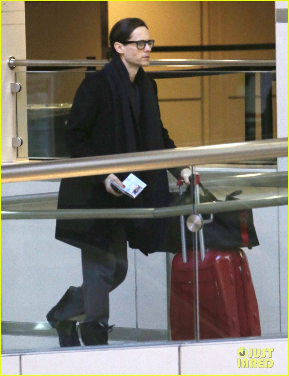jared leto from lax to new orleans 102775871