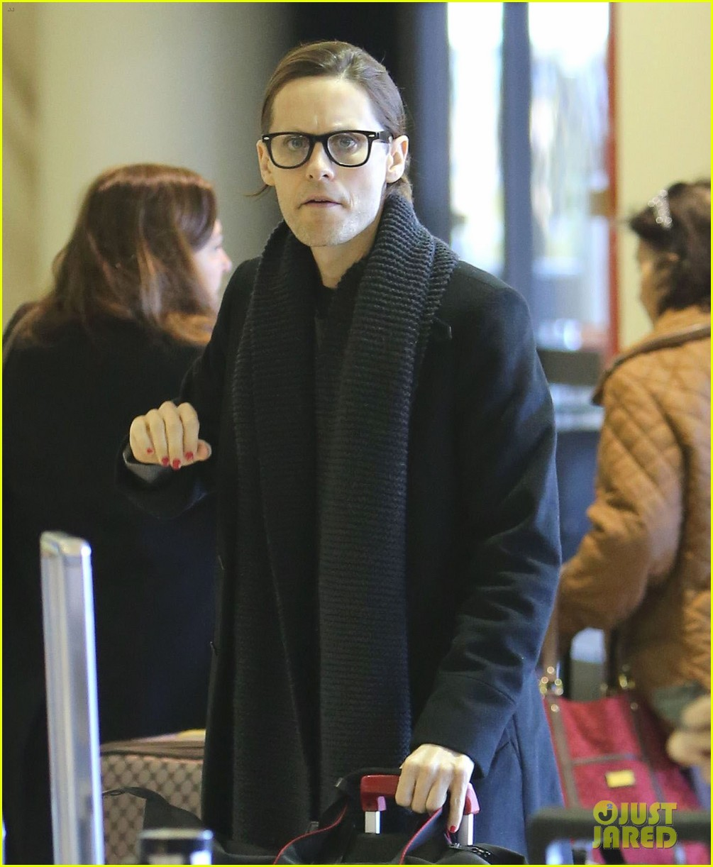 jared leto from lax to new orleans 112775872