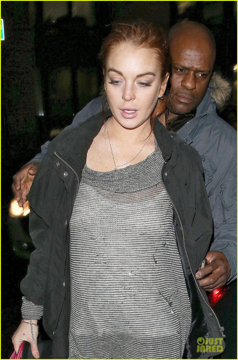 lindsay lohan may only good things come this year 08