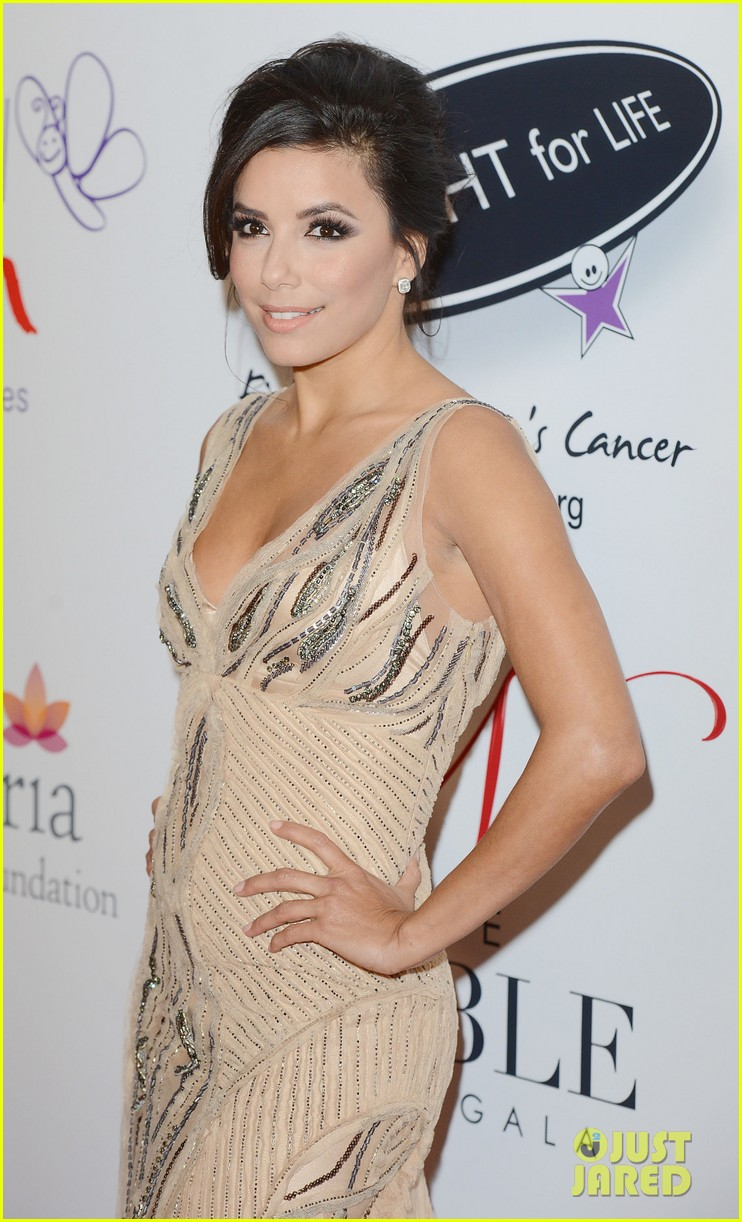 eva longoria noble gift gala with will i am 122772091