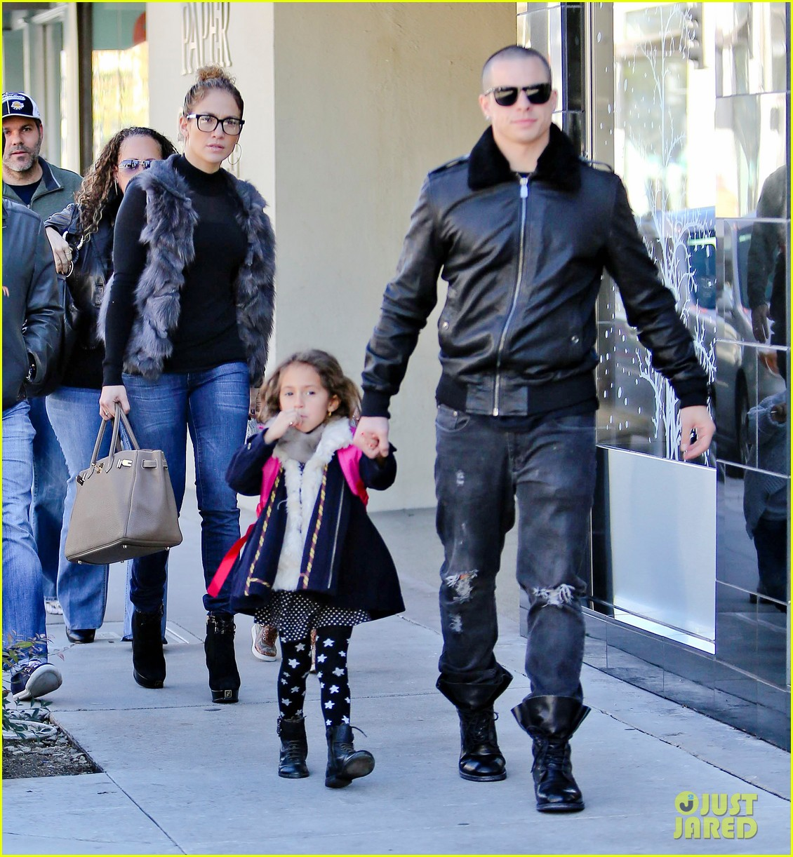 jennifer lopez casper smart beverly hills shopping with the kids 262781492