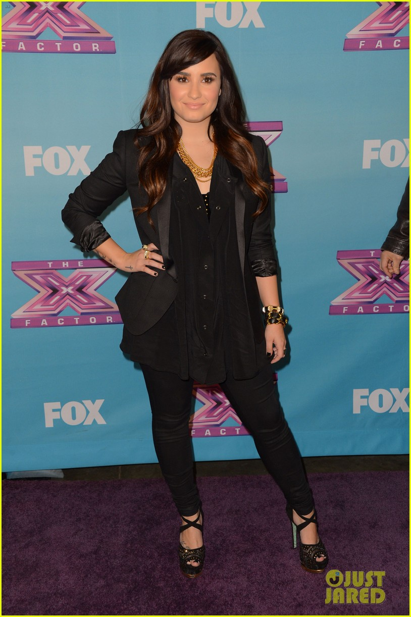 demi lovato fifth harmony x factor finale party 012778650