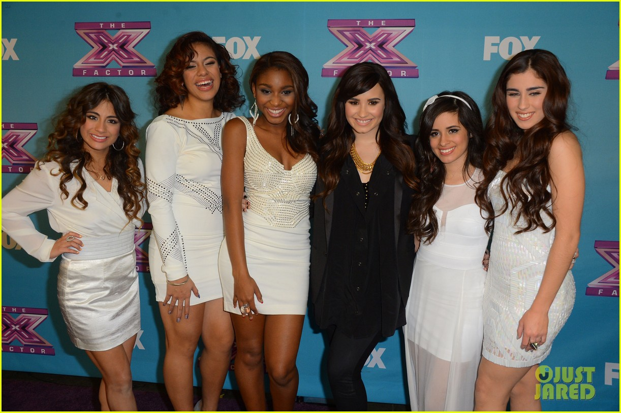 demi lovato fifth harmony x factor finale party 03
