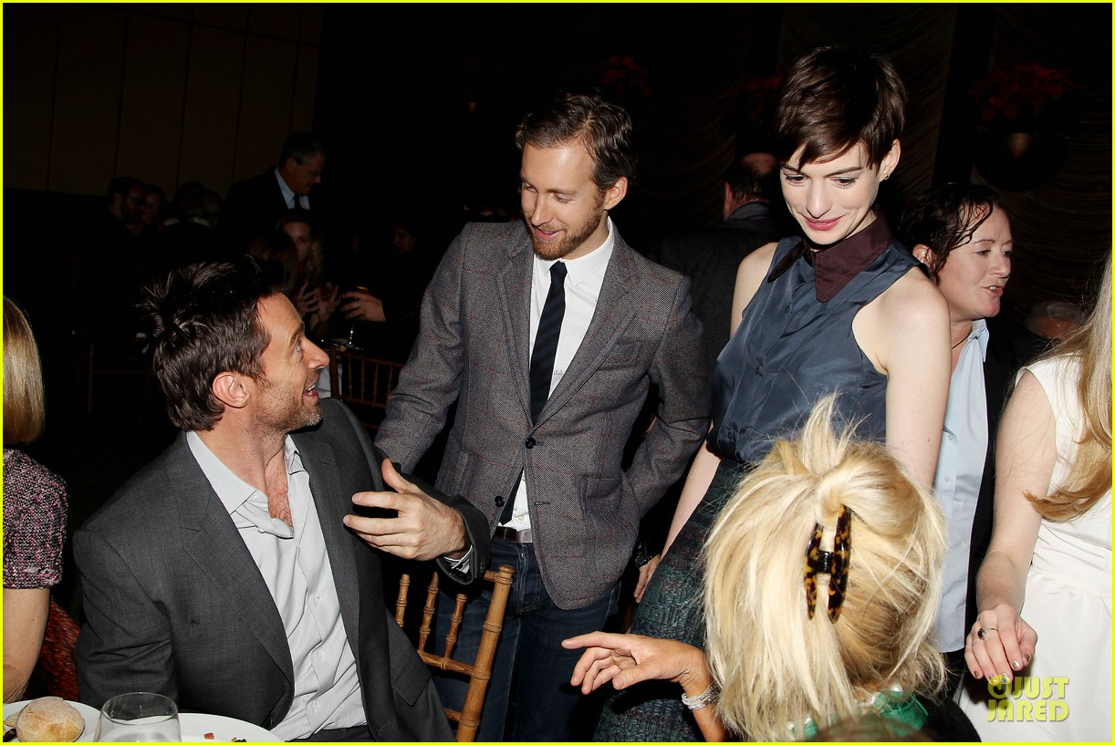 anne hathaway & amanda seyfriend les miserables luncheon 242773996