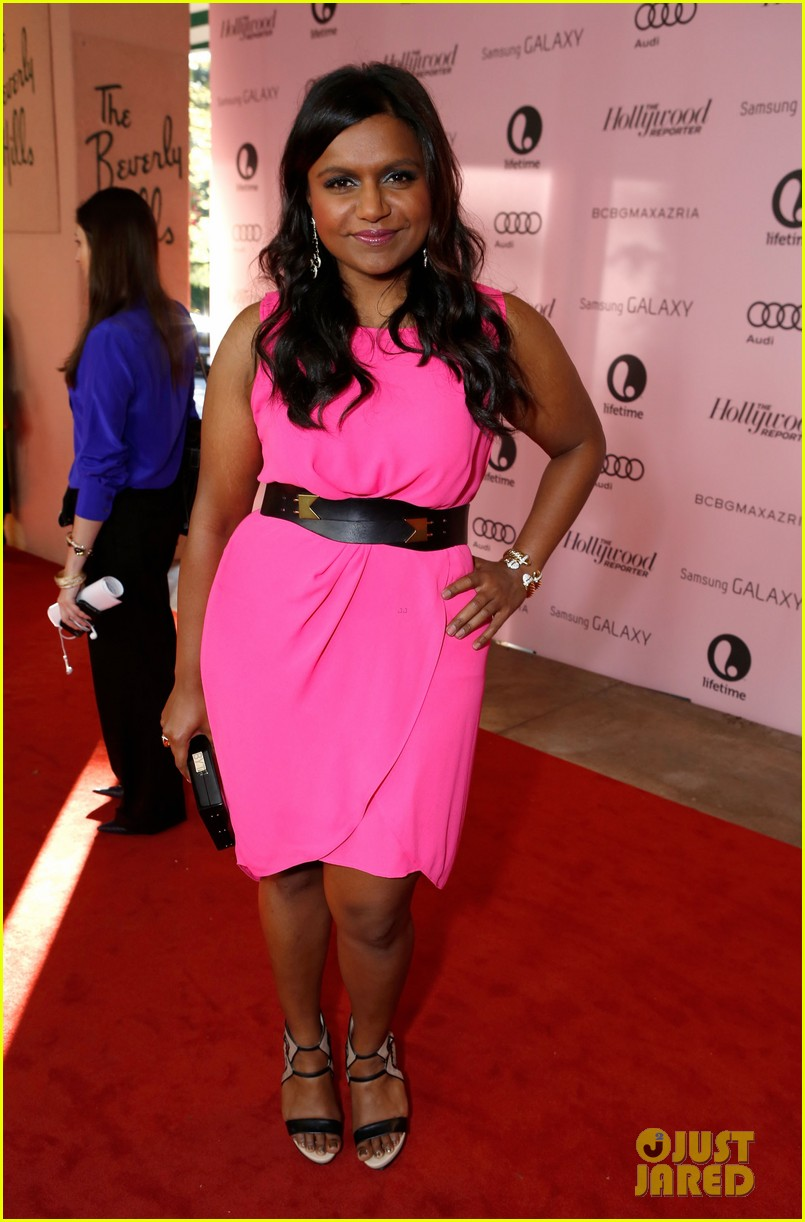 mindy kaling ashley madekwe thrs power 100 breakfast 062769738