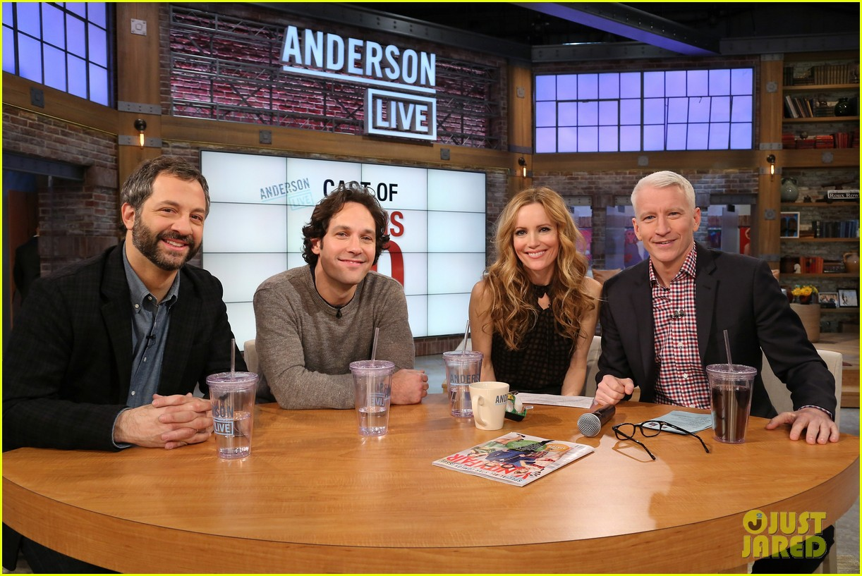 leslie mann paul rudd this is 40 crew visits anderson live 052778936
