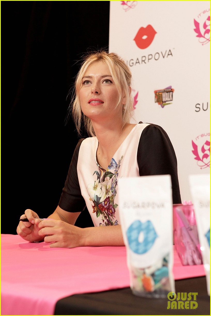 maria sharapova sugarpova candy launch 07