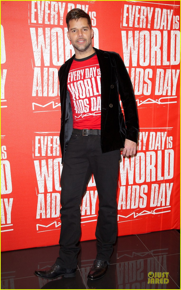 ricky martin world aids day event 032767014