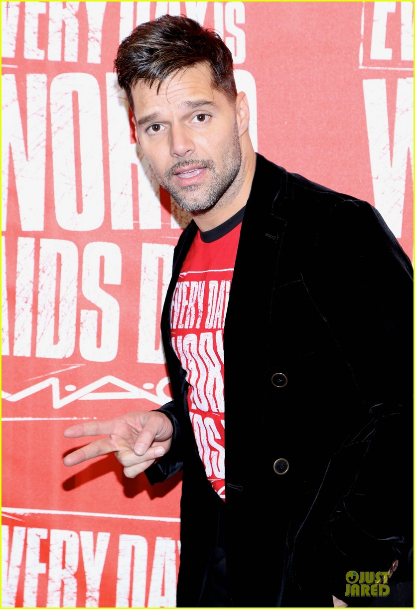 ricky martin world aids day event 072767018