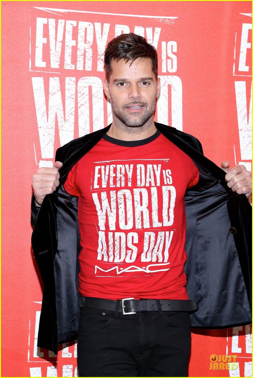 ricky martin world aids day event 112767022