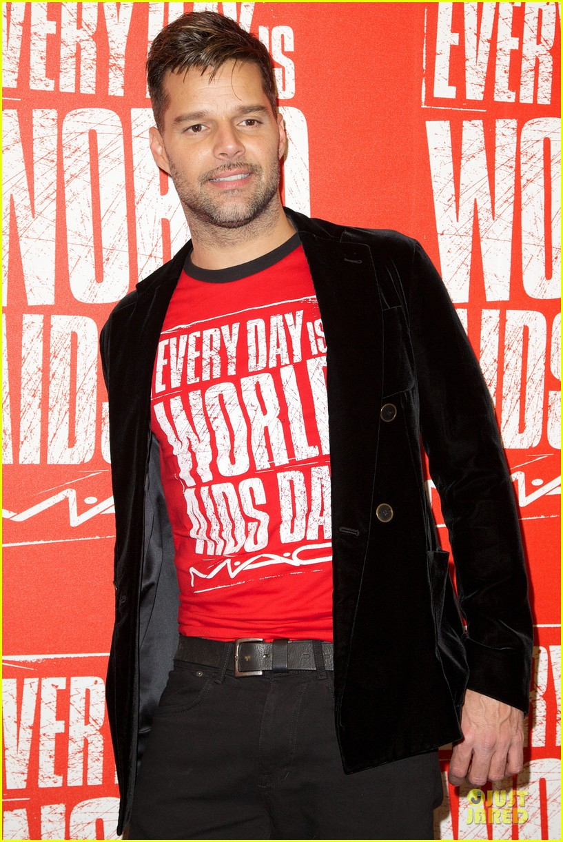 ricky martin world aids day event 15